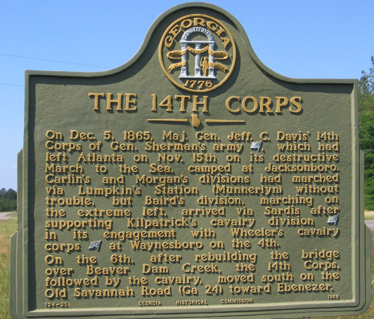The XIV Corps